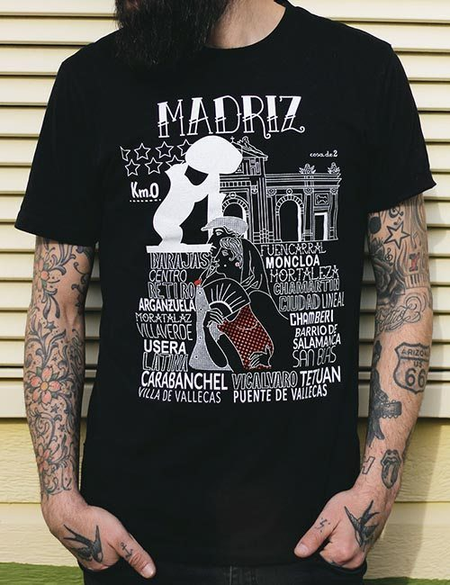"Camiseta ""Madriz"""