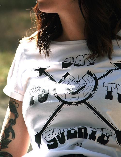 "Camiseta ""Soy yo tu suerte"""
