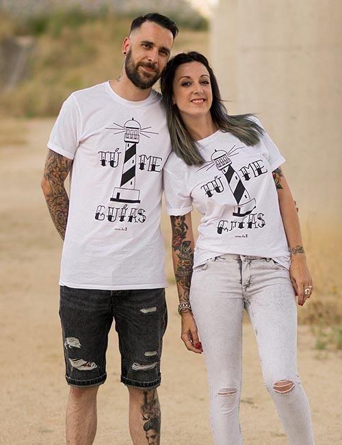 "Camiseta unisex ""Tú me guías"""