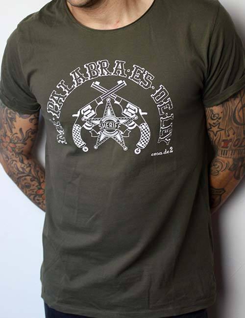"""Camiseta """"Mi palabra es de Ley"""""""
