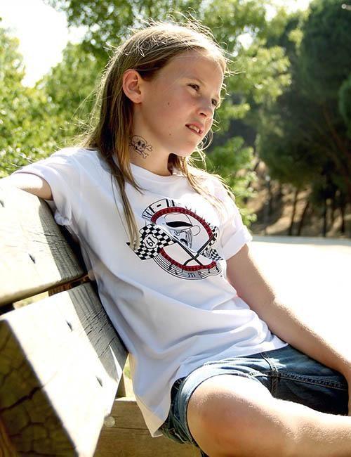 """Camiseta para chicos """"Cruce de caminos"""""""