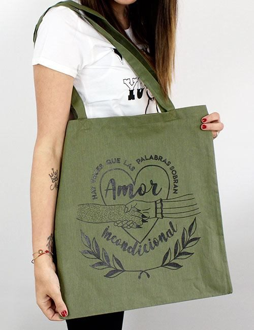 "Tote Bag ""Amor incondicional"""