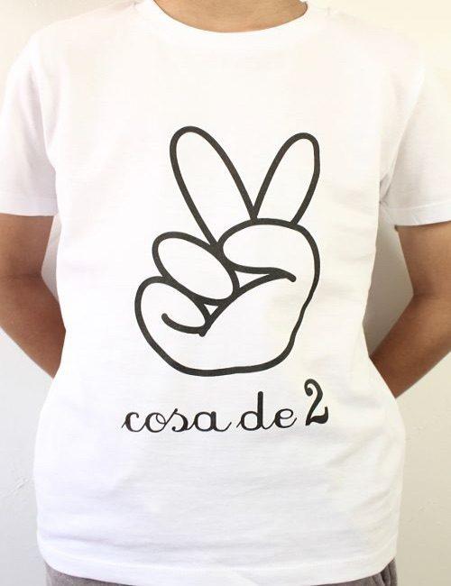 """Camiseta para niños """"Cosa de 2"""""""