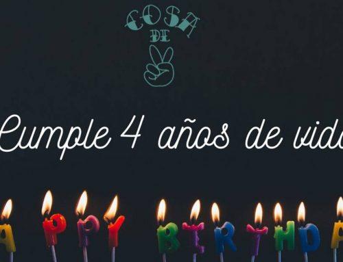 🎂 Cosa de 2 cumple 4 años de vida 🎉